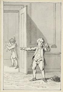 Illustratie voor 'De goede eerzugt' in de Kleine gedichten voor kinderen door H. van Alphen