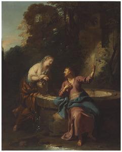 Christus en de Samaritaanse vrouw aan de put
