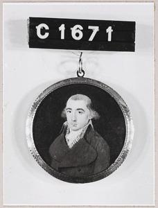 Portret van Barend Dijk (1768-1835)