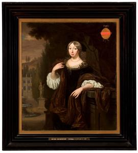 Portret van Cornelia Hunthum (1634-1721)