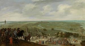 Frederik Hendrik van Oranje- Nassau (1584-1647) bij de belegering van 's Hertogenbosch, 1629