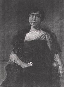 Portret van Jeanette Cornelia Cockuijt (1883- )
