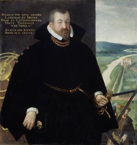 Portret van Wilhelm IV 'de Wijze' van Hessen-Kassel (1532-1592)