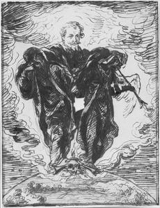 Allegorie op de dood van een onbekende man