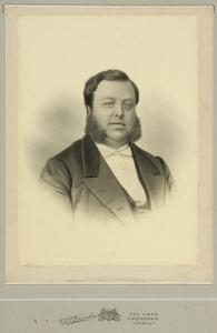 Portret van Henrik van den Broeke (1828-1867)