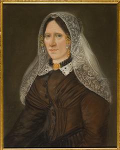 Portret vande vrouw van Warnier