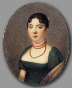 Portret van Anna Maria Elisabeth Marx (1787-1849)