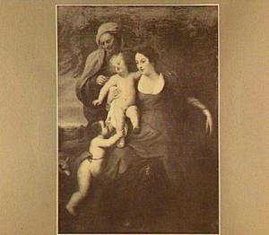 Maria met kind met Anna en putto