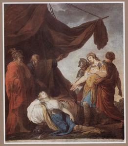 De gewonde Tancredi herkent de door hem gedode Clorinda (Torquato Tasso, Gerusalemme Liberata)