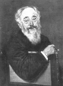 Portret van de Sanitätsrat  Dr. Sachs (1811-1883)