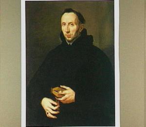 Portret van Antonius de Roore (1577-1655), prior van het Augustijner klooster nabij Brussel