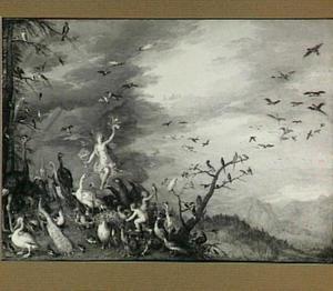 Allegorie van de lucht (een van de vier elementen)