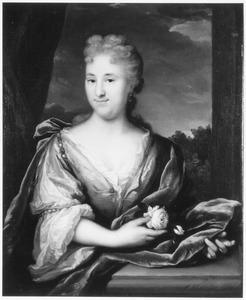 Portret van Cornelia Maria Bors van Waveren ( -1763)
