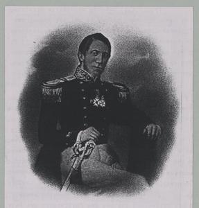 Portret van Pieter Melvill van Carnbee (1816-1856)