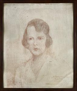 Portret van Emilie Marie barones Schimmelpenninck van der Oye (1910-1988)