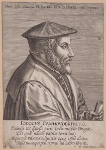 Portret van Joost de Damhoudere (1507-1581)