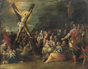 De kruisiging van de apostel Andreas