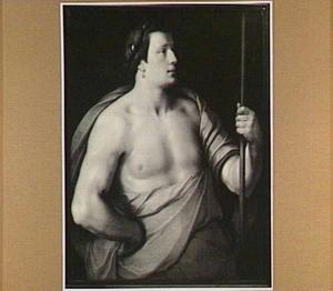 Heupstuk van een antieke held, mogelijk de Trojaanse prins Paris