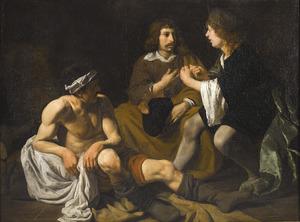 Jozef legt in de gevangenis de dromen van de bakker en de schenker uit (Genesis 40:1-23)
