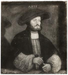 Mansportret met hoed