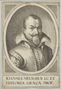 Portret van Johannes Meursius (1579-1639)