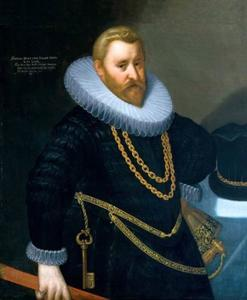 Portret van Simon VI zur Lippe (1554-1613)