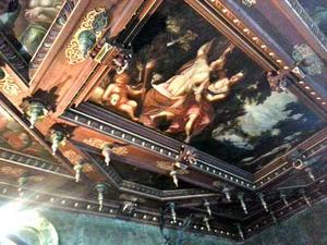 Angelica en Medoro griffen hun naam in de boom (Ariosto, Orlando Furioso, canto 19:36)