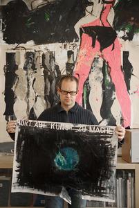 Portret van Erik van Lieshout