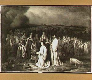 Salomo wijdt de nieuwe tempel buiten Jeruzalem in (1 Koningen 8)