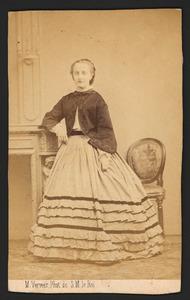 Portret van Marianna Susanna Bijleveld (1840-1922)