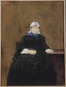 Portret van Margaretha van Schouwenburg (1800-1869)