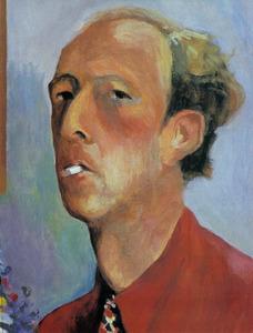 Zelfportret van Ekke Abel Kleima (1899-1958)