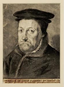 Portret van Corneille de la Haye (?-1575)