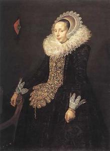 Portret van Catharina Both van der Eem (1589-1666)