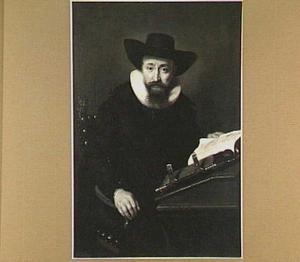 Portret van een onbekende man, waarschijnlijk een predikant