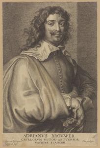 Portret van Adriaen Brouwer (....-1638)