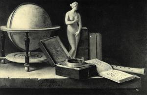 Stilleven met Venusbeeldje