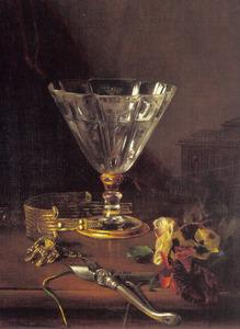 Stilleven met absinthglas