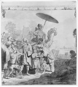 Jozef  door zijn broers als slaaf verkocht  (Genesis 37:28)