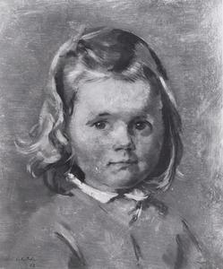 Portret van Pauline Caroline Alwine van Tets (1943- )