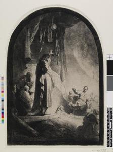 De opwekking van Lazarus (recto)