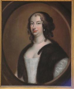 Portret van Veronica van Aerssen van Sommelsdijk (1633-1701)