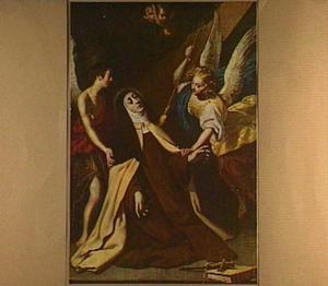 De H. Theresia van Avila in extase