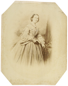 Portret van Willemina Bake (1830-1866)