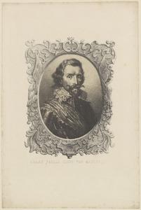 Portret van Ernst graaf van Mansfeld (1580-1626)