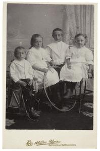 Portret van kinderen Hazenberg