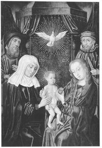 De Heilige Maagschap met Joachim en Jozef