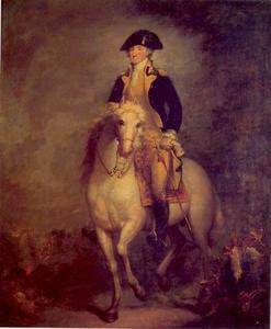 Ruiterportret van George Washington