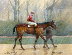 Harr, winnar van de Prix du Ventriloque, Auteuil, 14 maart 1920