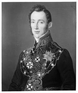 Portret van Jacob Derk Borchard Anne van Heeckeren (1792-1884)